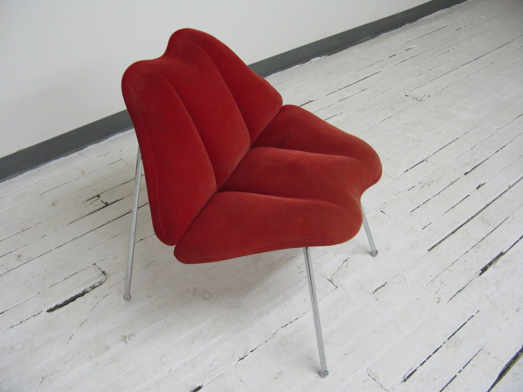 Lip Chair Marylin Monroe Lips Chair At 1stdibs