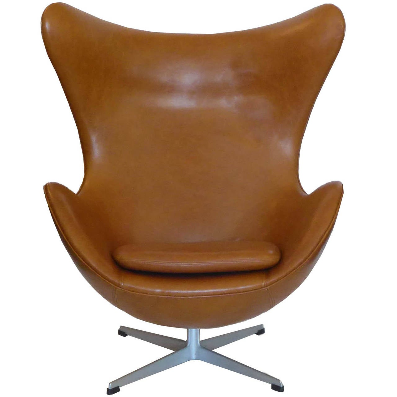 Egg Chair Prices Original Carmel Tan Egg Chair And Ottoman By Arne Jacobsen