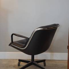 Pollock Executive Chair Replica Oak Rocking Chairs Midcentury Desk Leather By Charles