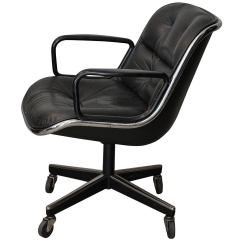 Pollock Executive Chair Replica Lift London Midcentury Desk Leather By Charles