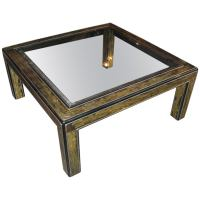 Mastercraft Coffee Table by Bernard Rohne at 1stdibs
