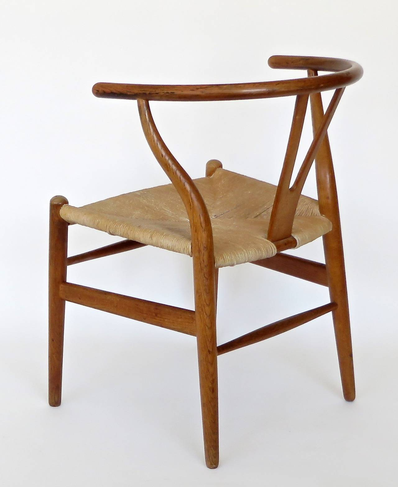 Wishbone Chairs Danish Ch 24 Wishbone Chair By Hans Wegner