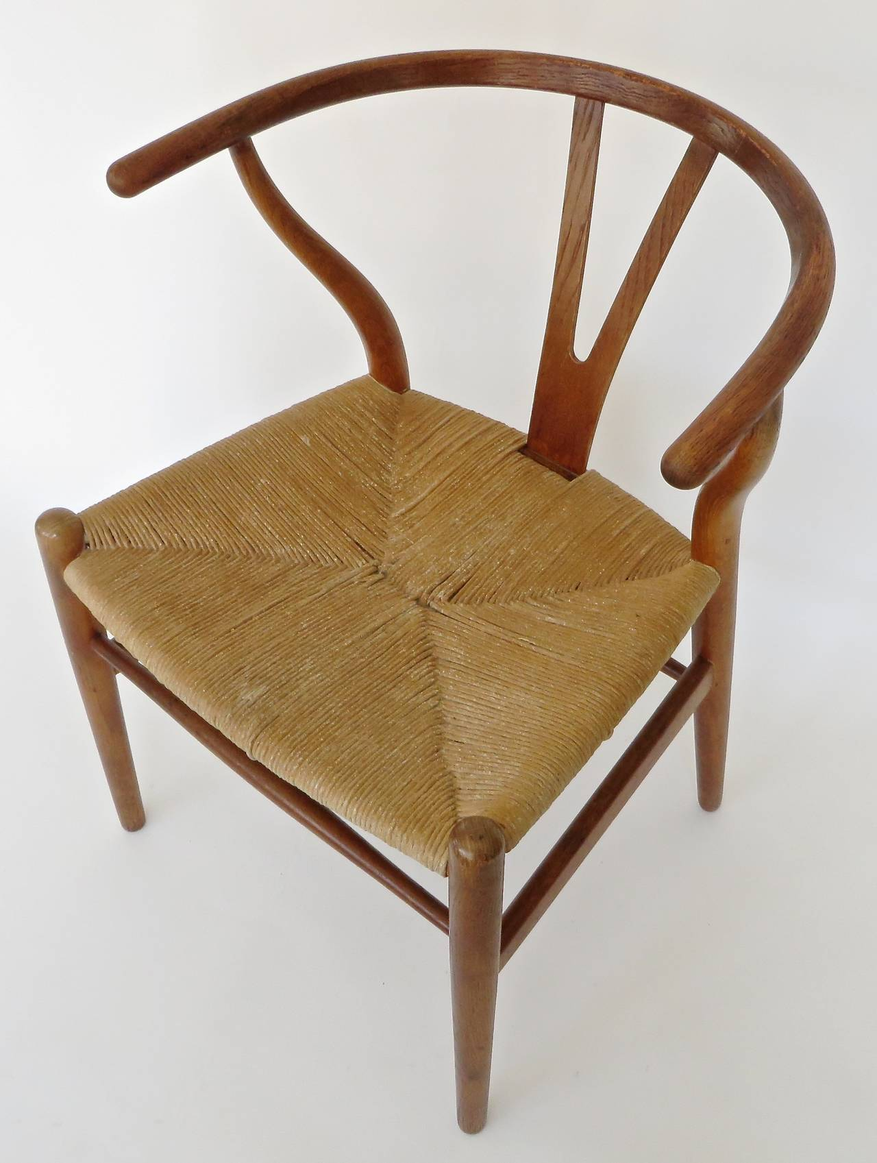 wishbone chairs lowes outdoor chair cushions danish ch 24 by hans wegner at 1stdibs