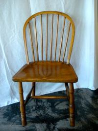 English Elm Windsor Side Chair, Circa 1780 For Sale at 1stdibs