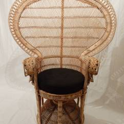 Vintage Peacock Chair Executive Office Chairs Emmanuelle At 1stdibs