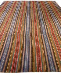 Vintage American Rag Rug For Sale at 1stdibs