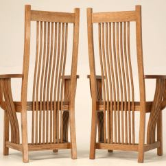 Mission Chairs For Sale Slip Cover Dining Chair Set Of 4 Vintage Oak Style At 1stdibs