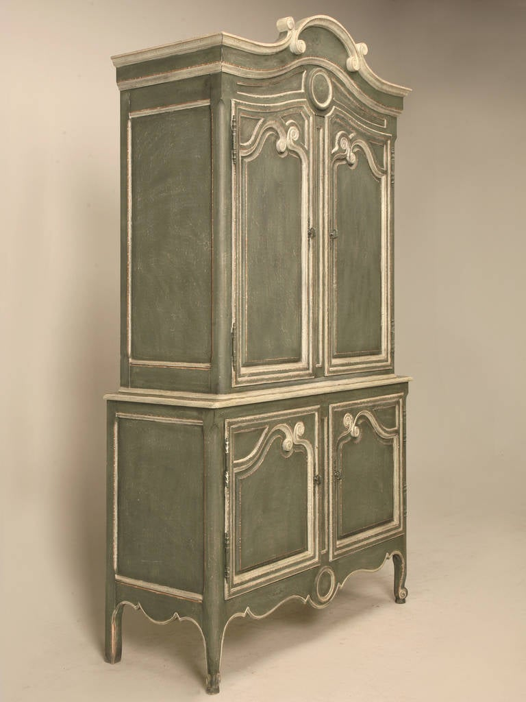 Vintage Baker Country French Style Armoire or Buffet Deux