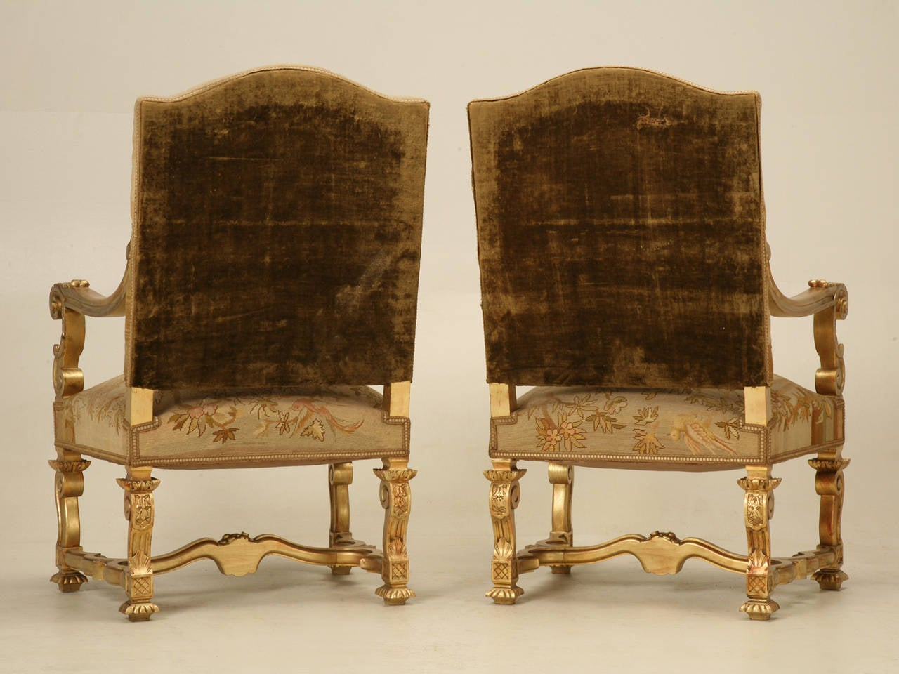 throne chair for sale two rocking chairs antique french gilded circa 1900