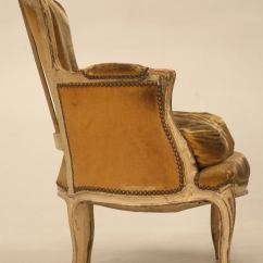 Bergere Chairs For Sale Where To Buy Chair Covers Nz Antique French Louis Xv Style In Old Paint