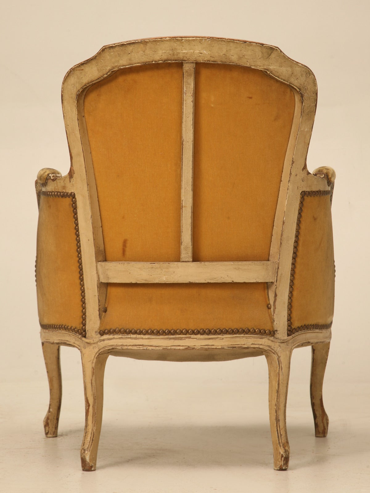 bergere chairs for sale oversized antique french louis xv style chair in old paint