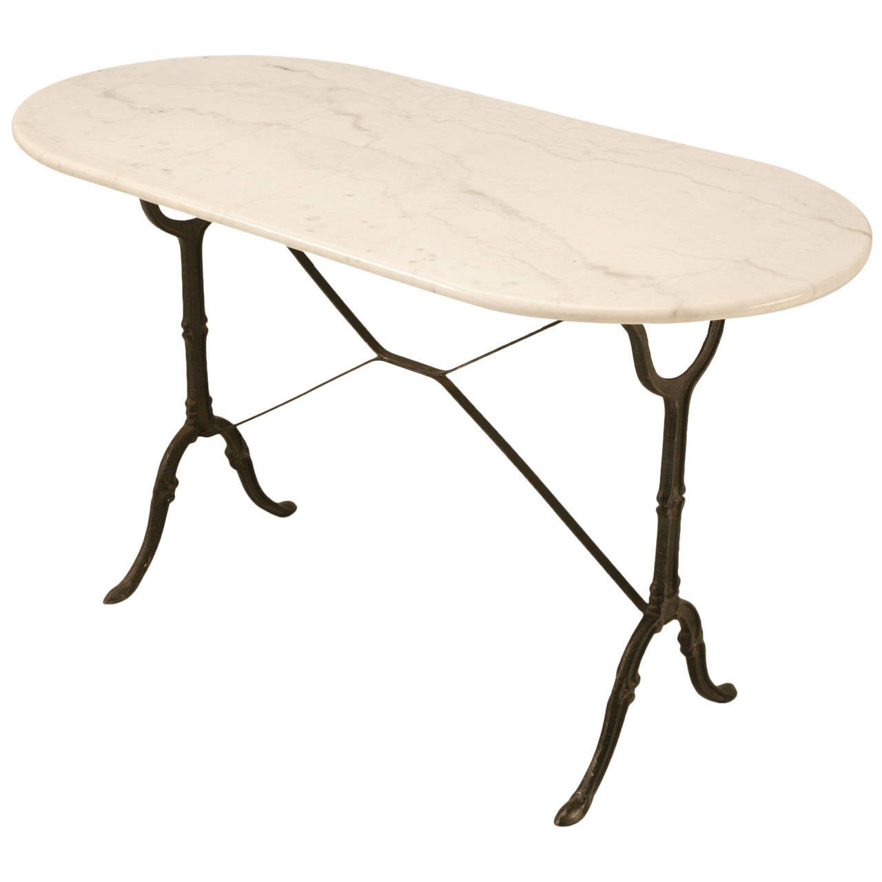 antique french bistro table and chairs bean bag for boats vintage with marble top at 1stdibs
