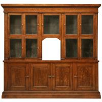 Spectacular Original Antique General Store Tobacco Cabinet ...