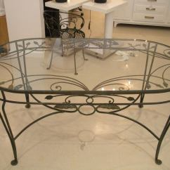 Vintage Wrought Iron Table And Chairs Baby Shower Chair Rental Queens Ny Salterini Dining At