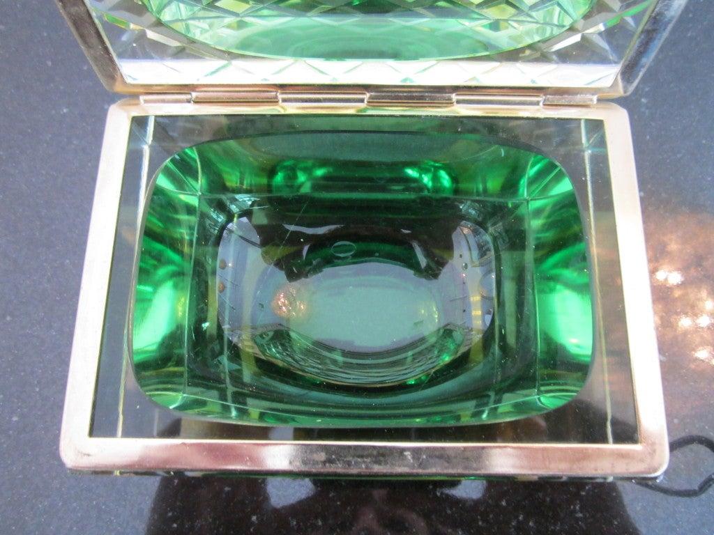 Rare Murano Glass Jewelry Box At 1stdibs