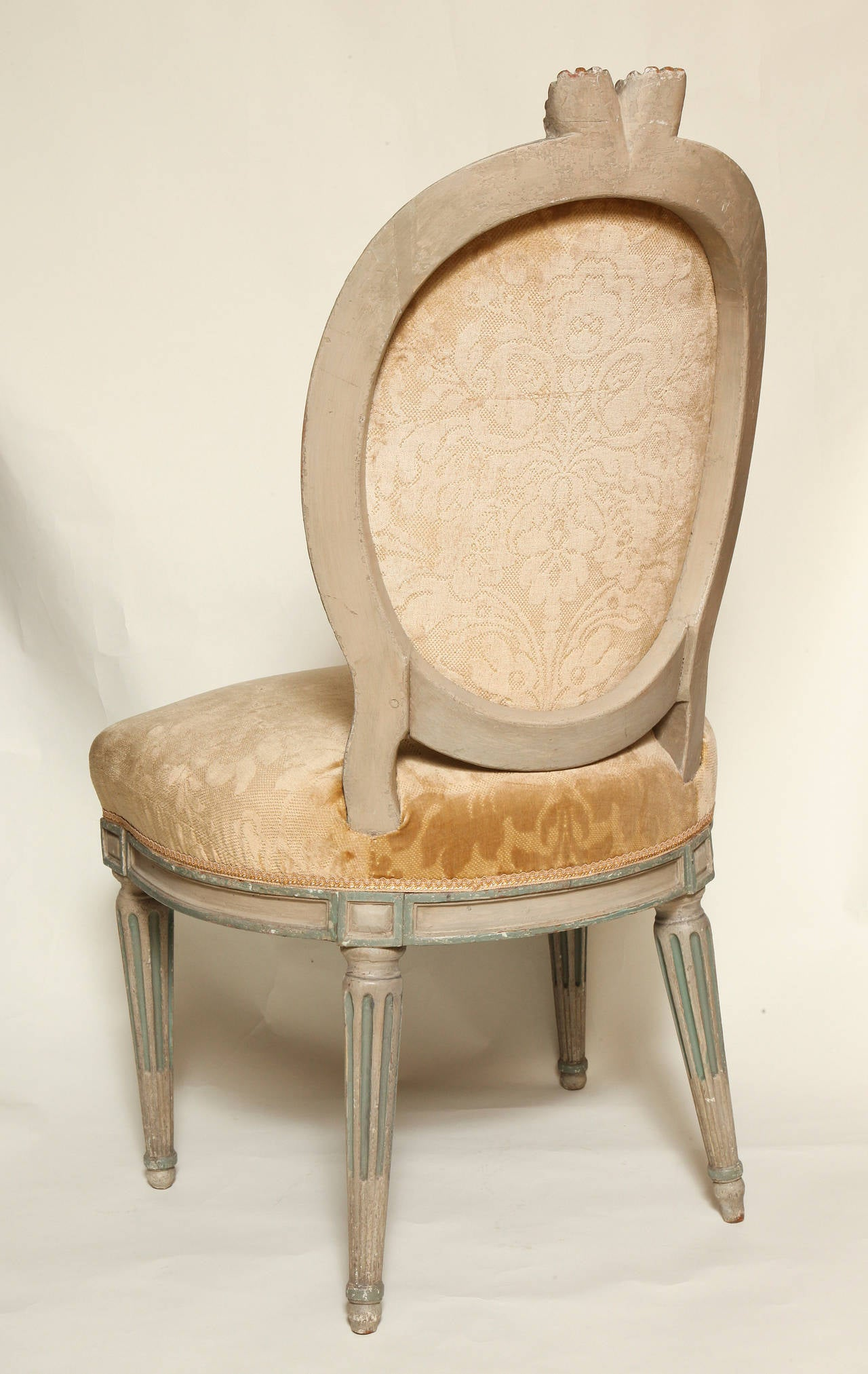 french bergere chair and ottoman lewis clark camping chairs a louis xvi style beechwood for sale at 1stdibs