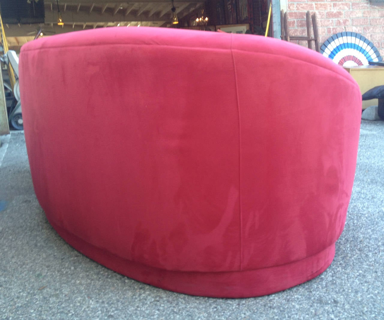 sofa magenta how to fix seat cushions quotcloud quot by vladimir kagan at 1stdibs