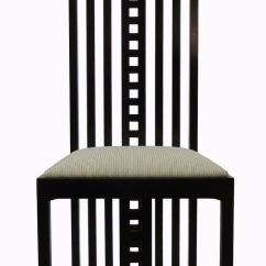 Charles Rennie Mackintosh Willow Chair Steel Bd Price Hill House Chairs, Set Of Eight At 1stdibs