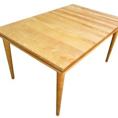Maple Dining Room Chairs Most Comfortable Adirondack Chair Russel Wright Solid Table At 1stdibs