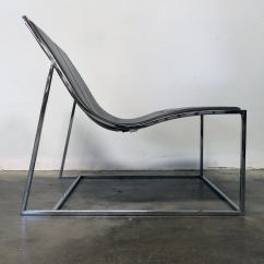 Easy Chair Nadir Steel Chrome Used Rocking Chairs Quotholy Day Quot Lounge By Jean Marie Massaud At 1stdibs