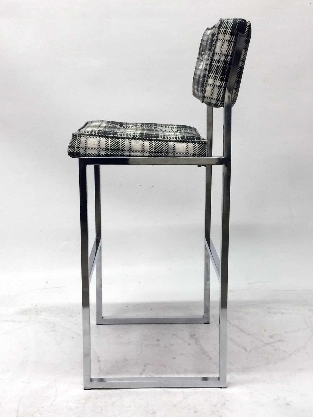 chromcraft chairs vintage baby bean bag chair midcentury bar stools at 1stdibs