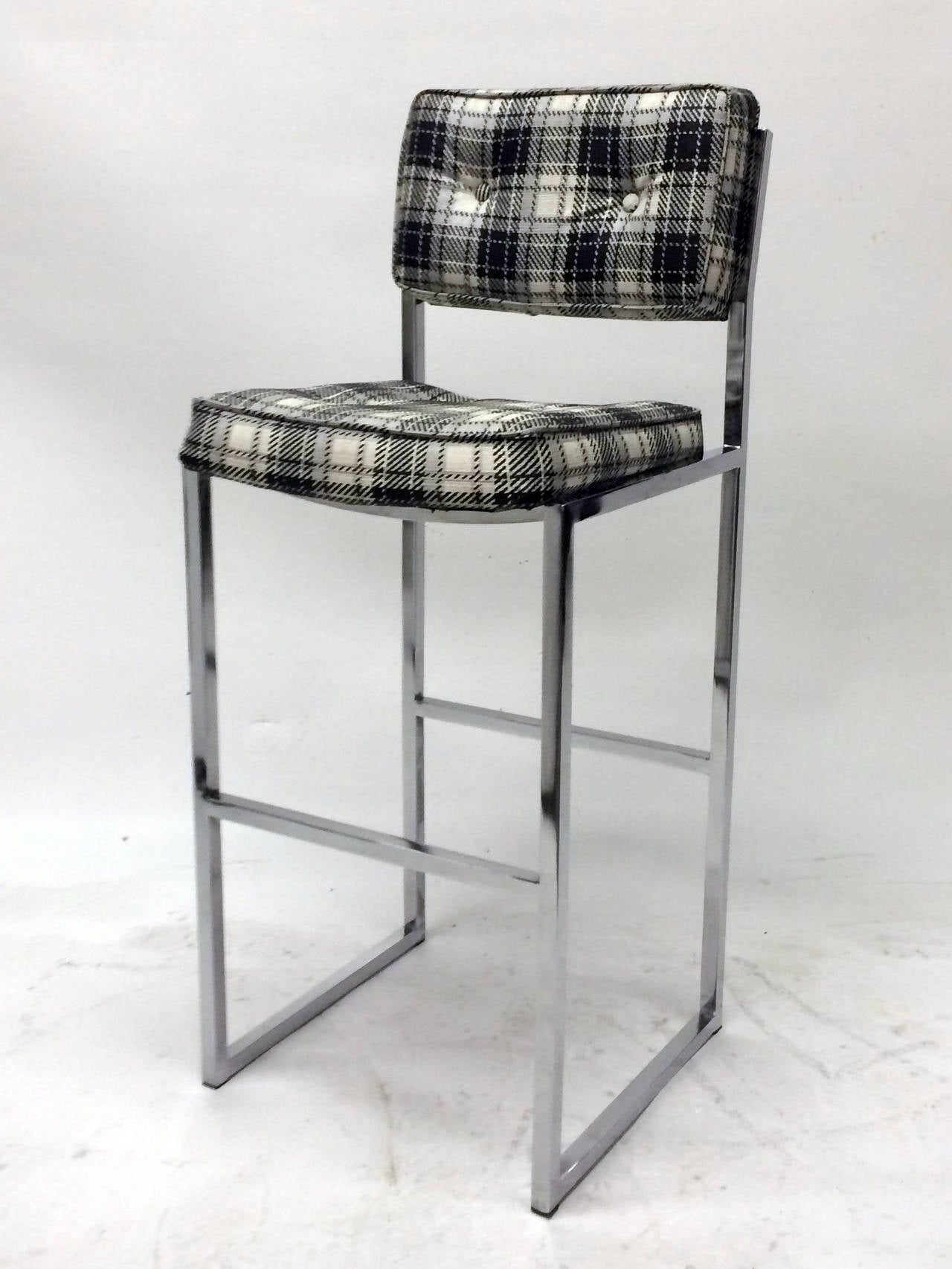 chromcraft chairs vintage toddler chair with tray midcentury bar stools at 1stdibs