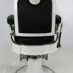 Revolving Chair In English Chocolate Dining Chairs Extraordinary Barber's By Ernest Koken At 1stdibs