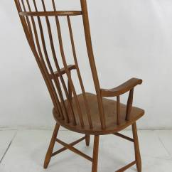 Windsor Back Chairs For Sale Orange Leather Chair Set Of Six High Style Dining