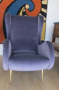 Single Italian Lounge Chair at 1stdibs