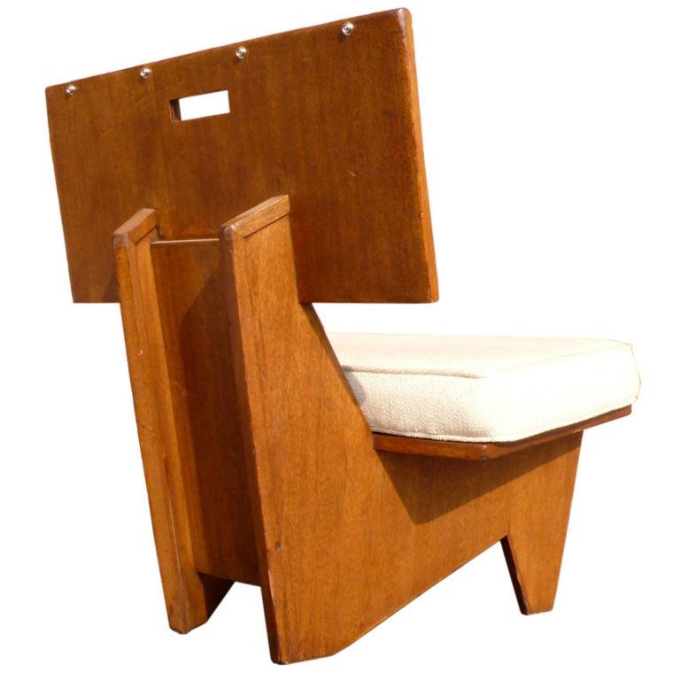 Frank Lloyd Wright Chair at 1stdibs