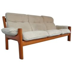 Stressless Chair Similar Folding Kitchen Table And Chairs Norwegian Teak Sofa By Ekornes For Sale At 1stdibs