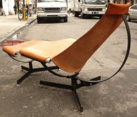 New Production Max Gottschalk Chair and Ottoman at 1stdibs