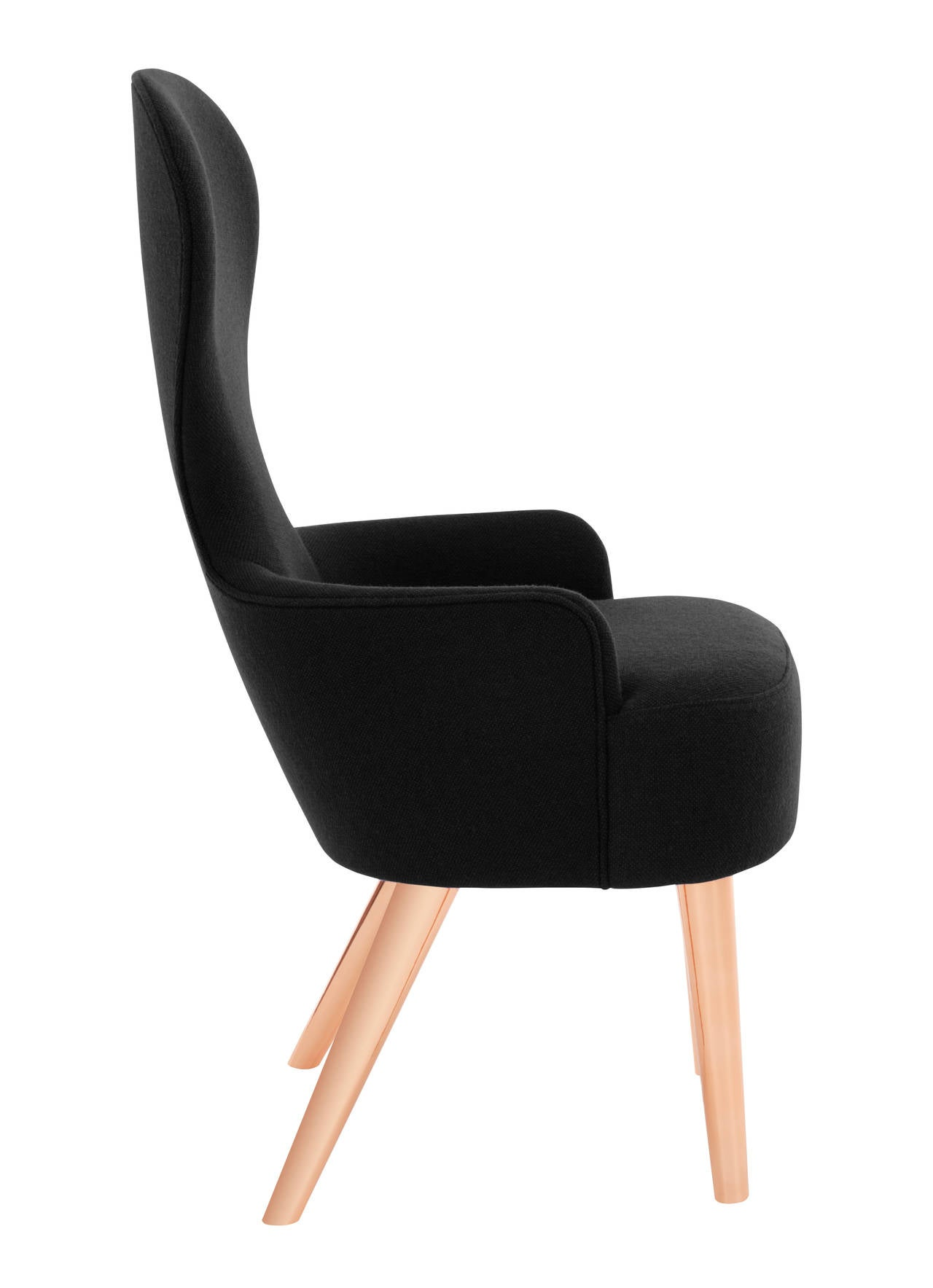 Wingback Dining Chairs Wingback Dining Chair By Tom Dixon For Sale At 1stdibs