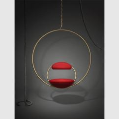 Hanging Chairs For Sale Folding Chair Bed Ikea Hoop 39brass 39 By Lee Broom At 1stdibs