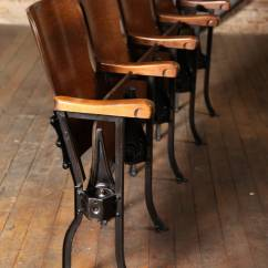 Movie Chairs For Sale Leather Dining Room Vintage Theater Seats At 1stdibs