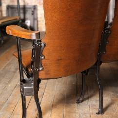 Movie Chairs For Sale Sit On It Vintage Theater Seats At 1stdibs