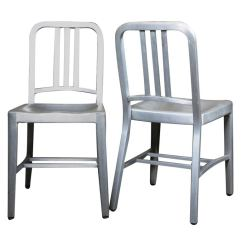 Bentwood Bistro Chairs For Sale Patio High Back Chair Cushions Vintage Industrial, Emeco Navy Pair, Original And Made In Usa At 1stdibs