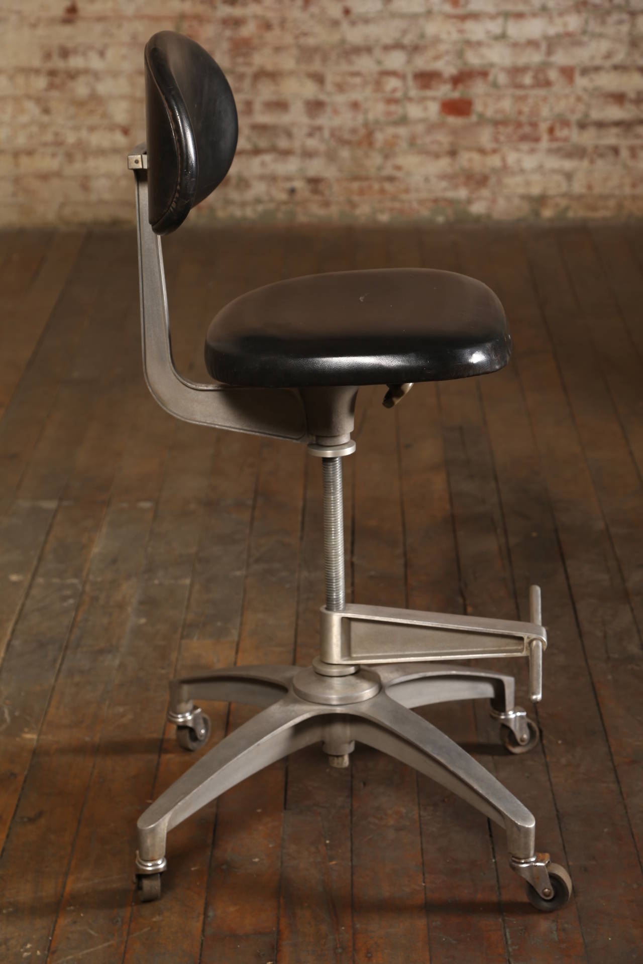 shaw walker chair folding chairs home depot original vintage drafting stools at 1stdibs