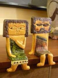 Marcello Fantoni, Whimsical Shelf Sitters for Raymor at ...