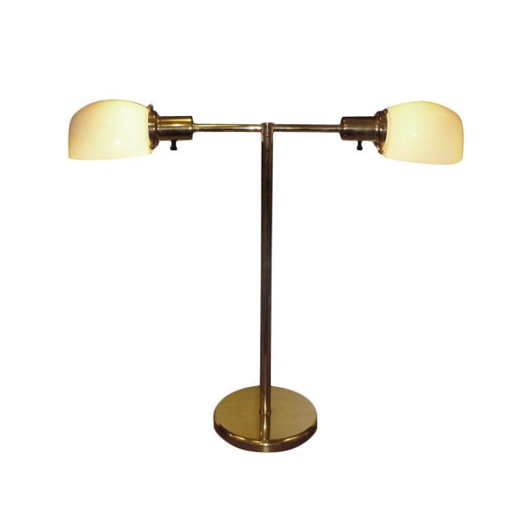 Nessen Library Desk Bedside T Bar Lamp At 1stdibs