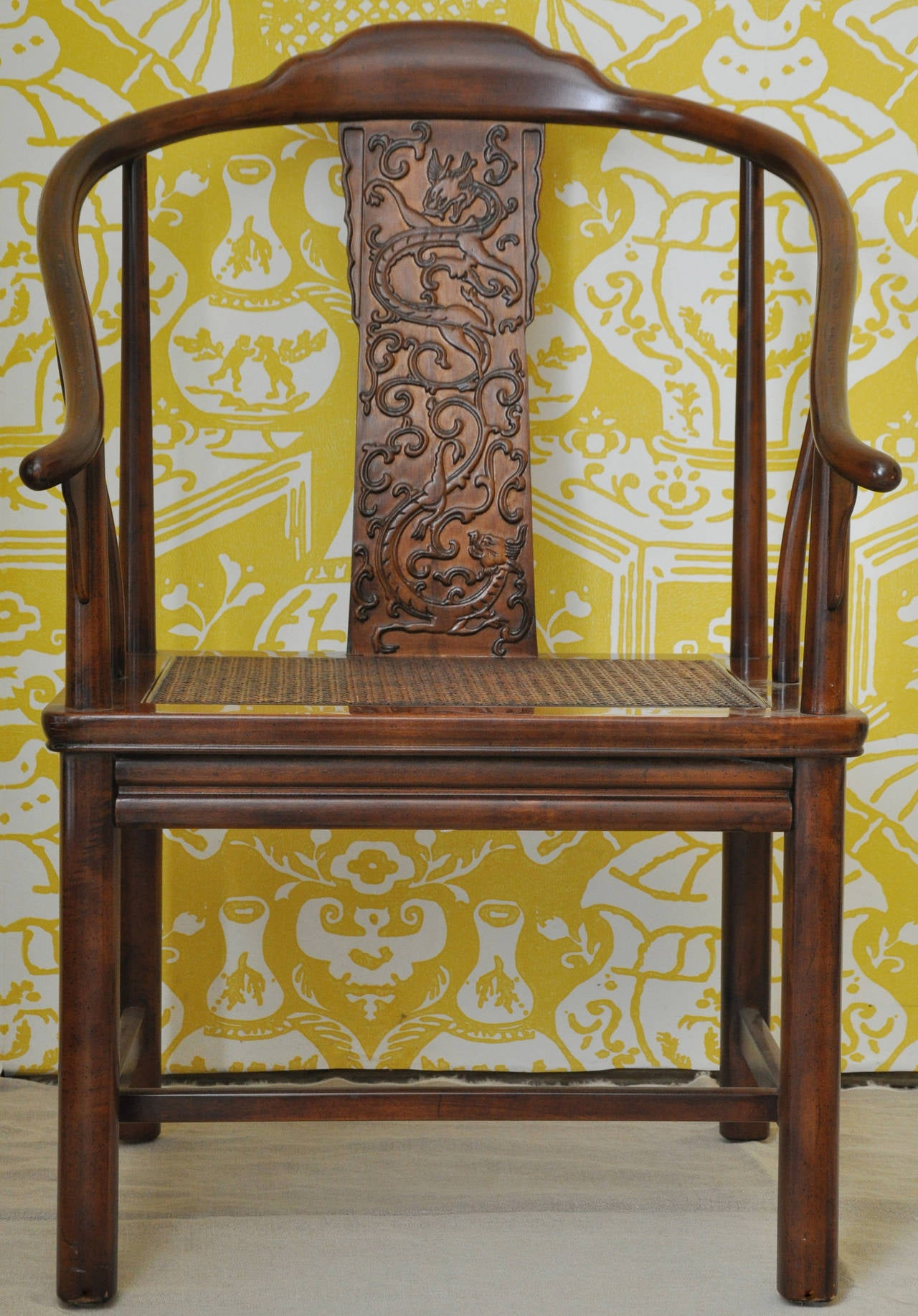 henredon asian dining chairs leather zero gravity set of six style by furniture at 1stdibs