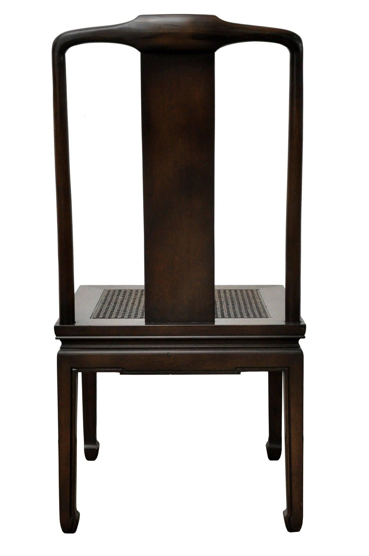 henredon asian dining chairs harley davidson chair set of six image 6