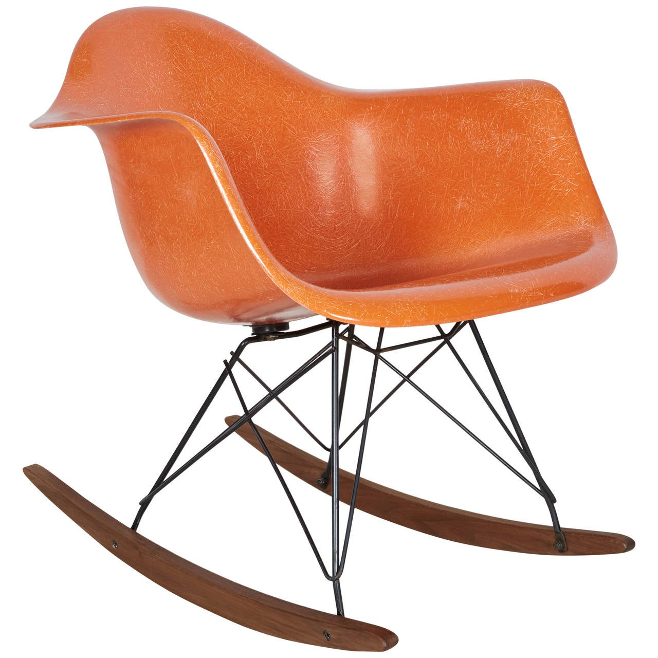 eames rocking chair nfl bean bag chairs early charles for herman miller at 1stdibs