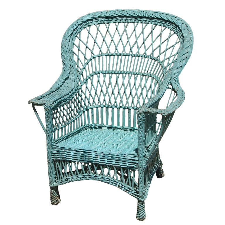 white upholstered rocking chair 1 2 with ottoman bar harbor wicker armchair at 1stdibs
