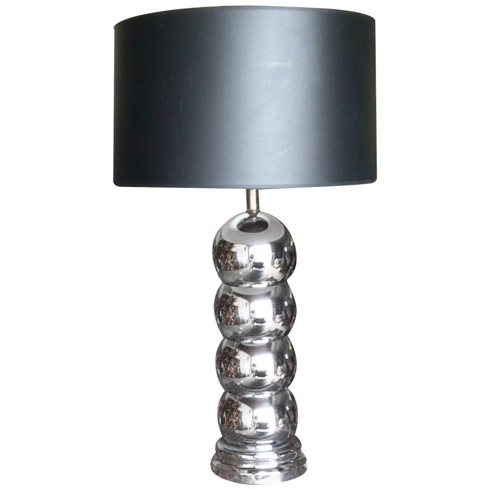 George Kovacs Stacked Ball Lamp at 1stdibs