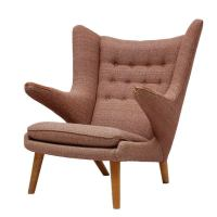 Hans Wegner Papa Bear Chair at 1stdibs