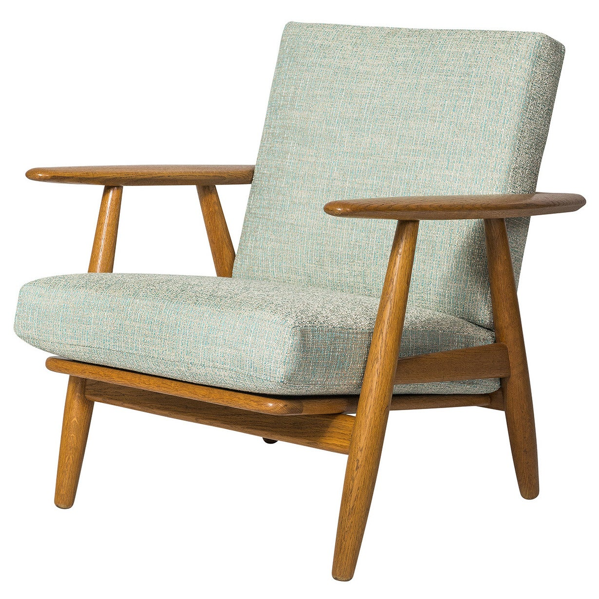 Cigar Lounge Chairs Hans Wegner Ge 240 Quotcigar Quot Chair At 1stdibs