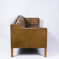 Borge Mogensen Sofa Model 2209 Shabby Chic Pillows 2213 Three Seat At 1stdibs
