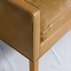 Borge Mogensen Sofa Model 2209 Real Leather Corner Bed Uk Three Seat For
