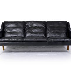 Mogensen Sofa 2209 Menards Protector Børge Model Three Seat Leather At 1stdibs